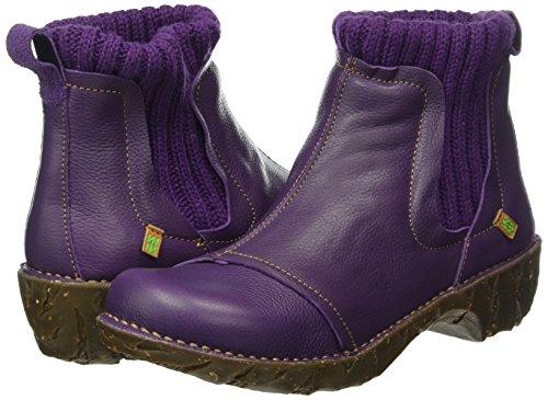 Grain El Chelsea Naturalista Ne23 Viola purple Donna Stivali Yggdrasil Soft fqntrFq6
