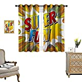 Best Lighting EVER Ever Books - Retro Waterproof Window Curtain Super Fun Quote on Review