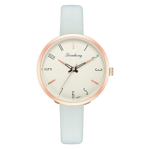 VEHOME Cuero clásico - Ms. Reloj de cuarzo-XR3129-Relojes Inteligentes relojero Reloj reloje de Pulsera Marcas Deportivos: Amazon.es: Relojes
