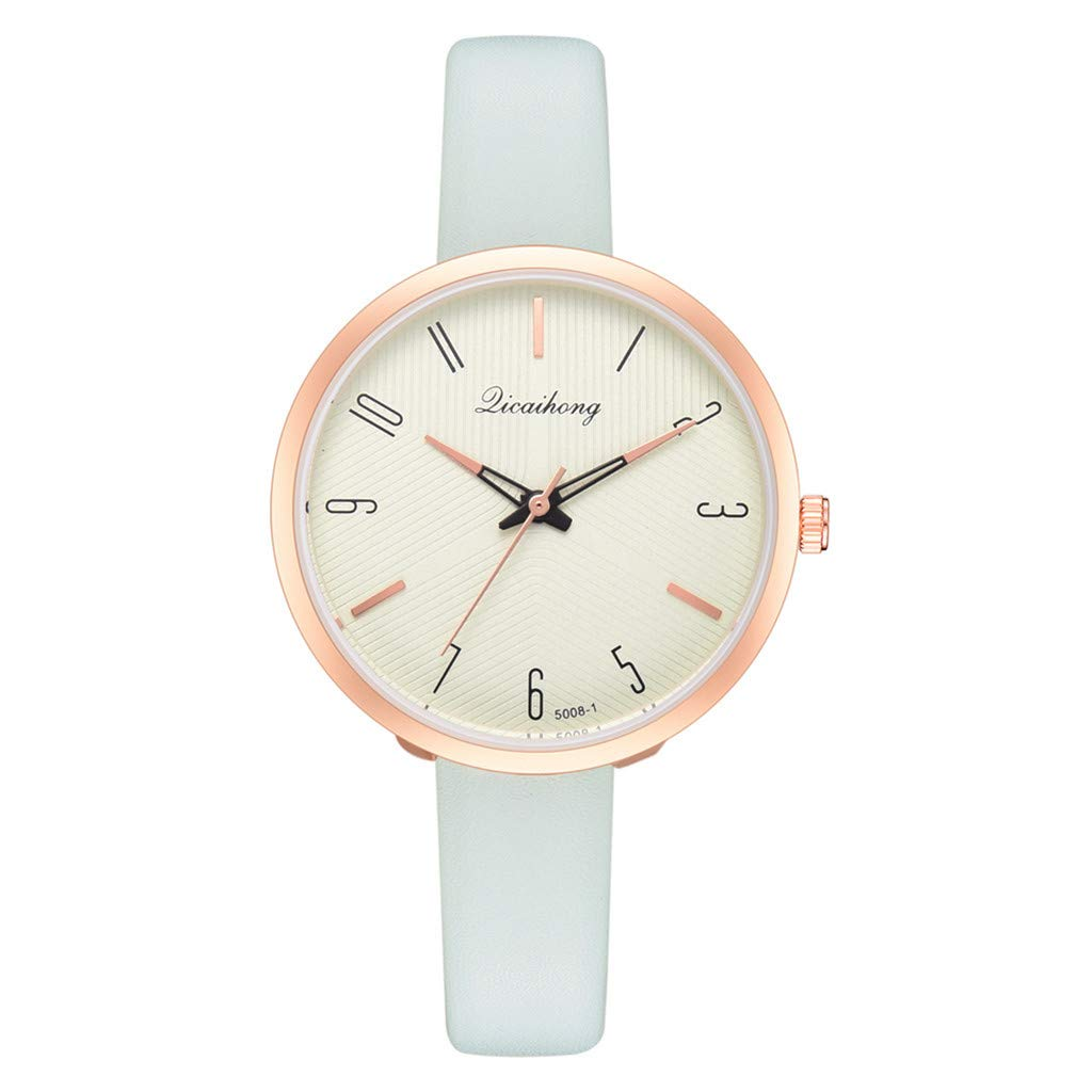 Toponly Women Fashion Temperament Watch Classic Casual Quartz Analog Leather Belt Wrist Watches