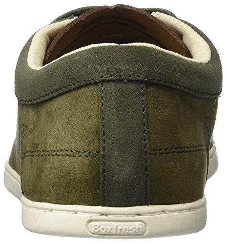 Boxfresh Herren Losium Sneaker Grün (Khaki)