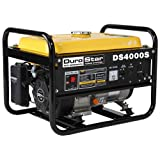 quiet gas generator - DuroStar DS4000S, 3300 Running Watts/4000 Starting Watts, Gas Powered Portable Generator
