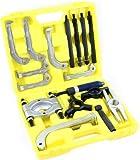 GHP 10-Ton Hydraulic Ram 1.5'' Diameter Gear Jaw Puller Bearing Separator Tool Set