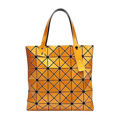 De Pliant à Femme Orange De Mode CY Bandoulière Personnalité à La De Bag Main Sac Géométrique La Sac 1qXExwY4U