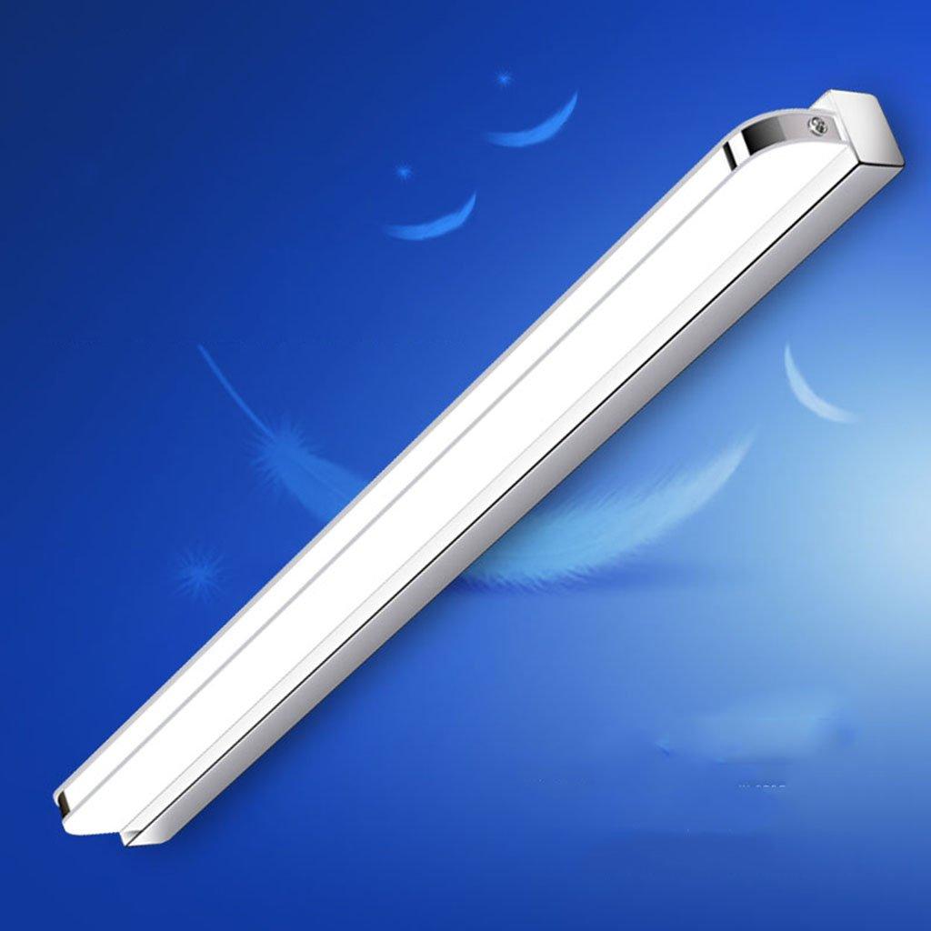 & Spiegellampen Spiegel Front Ligh, LED Wasserdicht Anti-Fog Bad Badezimmer Spiegel Lampe Wandleuchte Einfache moderne Spiegel Schrank Lampe Nachttisch Wandleuchte Badezimmerbeleuchtung