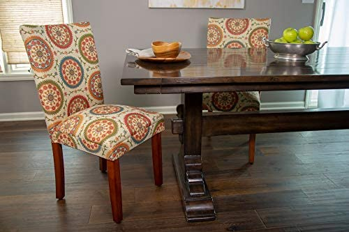 home, kitchen, furniture, kitchen, dining room furniture,  chairs 10 image HomePop Parsons Upholstered Accent Dining Chair, Set of promotion