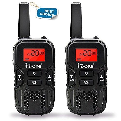 iCore Kids Walkie Talkie,Long Range 2 Way Radios  for Childr