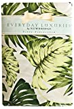 Tropical Palm Tree Leaf Print Vinyl Flannel Backed Tablecloth, Indoor/Outdoor Tablecloth for Picnic, Barbeque, Patio and Kitchen Dining, (60 Inch x 120 Inch Oblong/Rectangle)