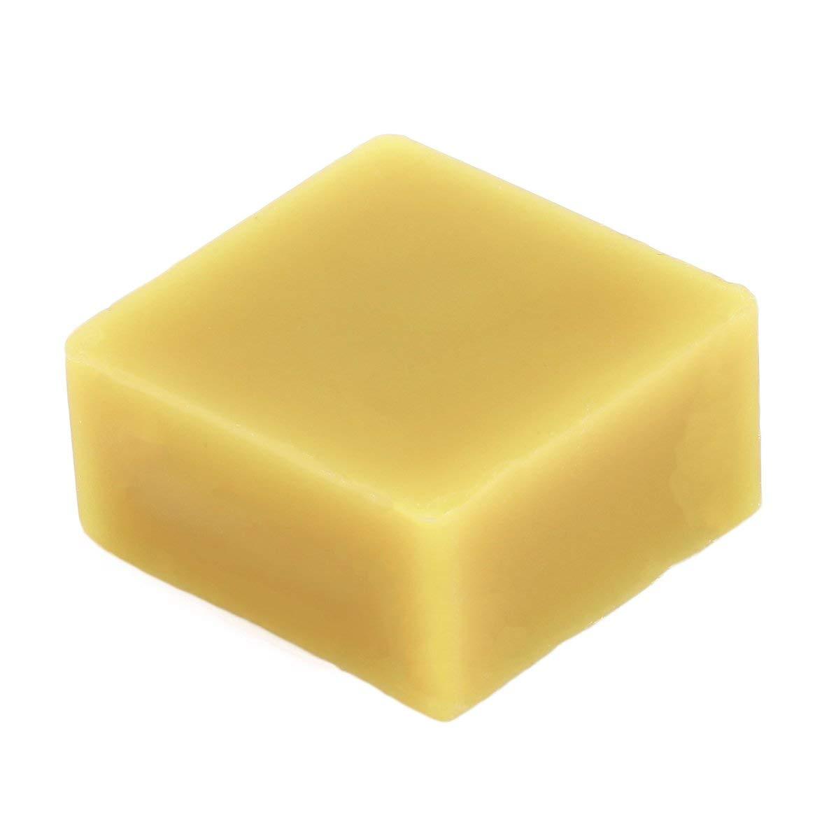 Cosmé tico Miel Natural Muebles Polaco Cera 100% Orgá nico Puro natural Cera de abejas Grado alimenticio Amarillo Cera de abejas DIY Bá lsamo labial - Amarillo Delicacydex