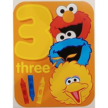 Elmo Big Bird And Cookie Monster