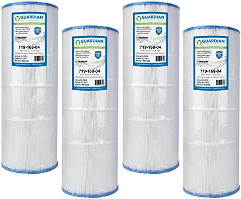 Guardian Filtration - 4 Pack Pool Spa Filters Replacement for Pleatco PCC80 Unicel C-7470 FC-1976 - Pentair Pac Fab American