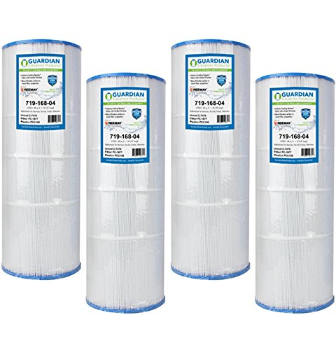 - 4 Pack Pool Spa Filters - Replace Pleatco PCC80 Unicel C-7470 FC-1976 - Pentair Pac Fab American Guardian Brand