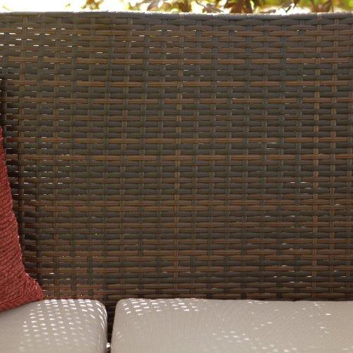 Coral Coast Parkville All-Weather Wicker Conversation Set - Seats 4