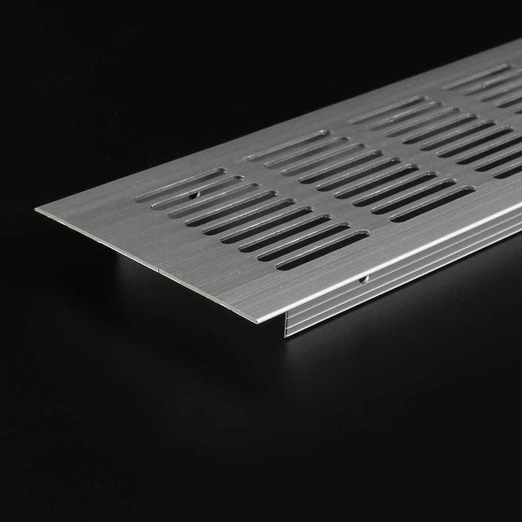 JUNESUNN Grille de Ventilation en t/ôle perfor/ée /à /évent en Alliage daluminium