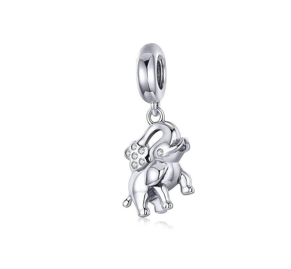 Amazon com: MiniJewelry fit Pandora Elephant Charm for