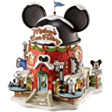 Department 56 North Pole Village Miniature Lit Building, Mickey's Ears Factory