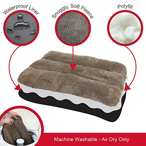 SportPet-Designs-Waterproof-Pet-Bed-Fits-SportPet-Plastic-Dog-Kennel