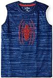 Fashion Boys Spider-Man Blue Muscle Tank