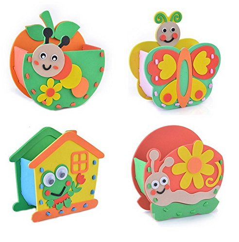Set of 4 Kids Art Projects Material Creative Craft for Thanksgiving