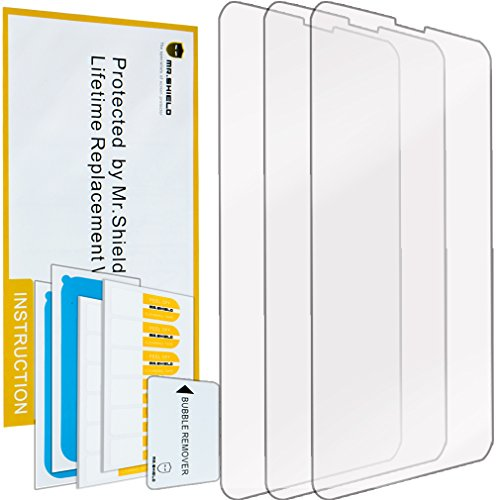 Mr Shield For Nokia Lumia 630 635 636 638 Anti-glare Screen Protector [3-PACK] with Lifetime Replacement Warranty