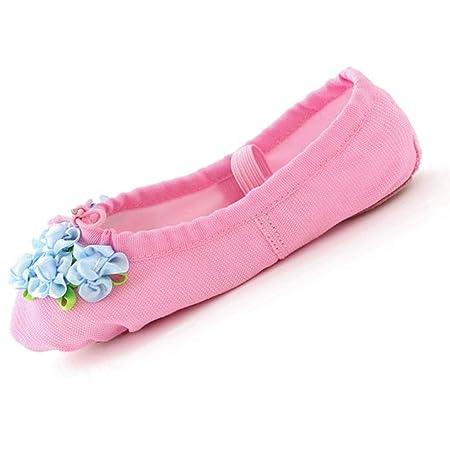 XIE66 Zapatillas de Ballet para niños Zapatillas de Ballet ...