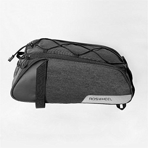 AUSTY 35L Multifunctional Bicycle Rear Seat Bag Outdoor Cycling Bike Rack Seat Bag Rear Trunk Pannier Backseat Bag Handbag Shoulder Bag by AUSTY (Image #1)