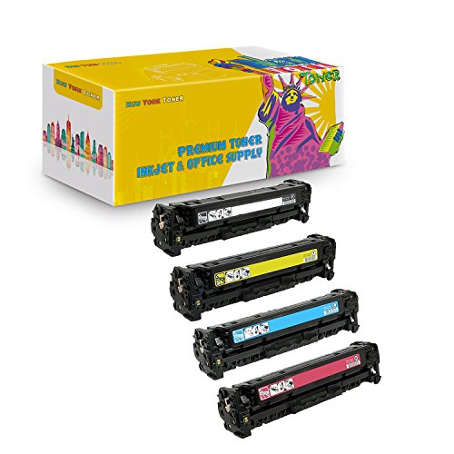 New York TonerTM New Compatible 4 Pack C4191A C4192A C4193A C4194A High Yield Toner for HP - Color LaserJet 4500 | 4500DN | 4500HDN | 4500N | 4550 | 4550DN . -- Black Cyan Yellow Magenta - Hp C4193a Compatible Toner