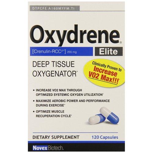 Novex Biotech Company Oxydrene Elite Capsules, 120 Count