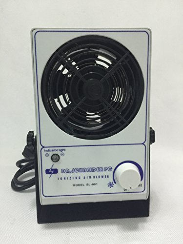 110V ESD Ionizer ESD Bench top Ionizing Air Blower