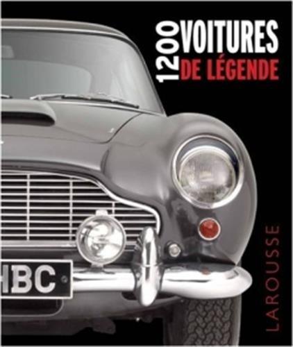 Livre 1200 voitures de légende