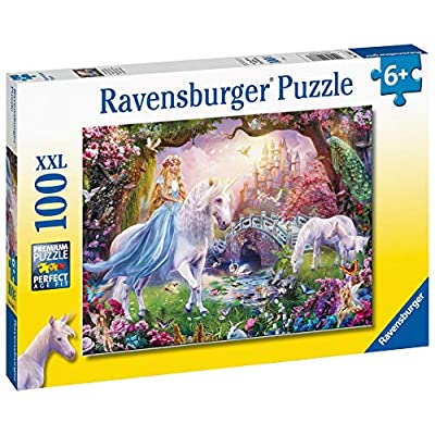 Ravensburger 12887 Unicorn Magic 100 Piece Puzzle for Kids - Every Piece is Unique, Pieces Fit Together Perfectly: Toys & Games