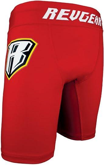 Revgear Vale Tudo Solid Black Shorts