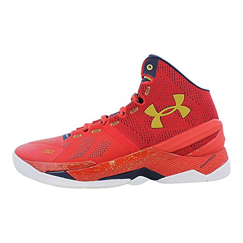 Metallic Curry Armour Men's Orange Red Under 2 Basketball 4nF8qxYqHw