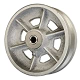 6'' x 2'' V Groove Wheel for Casters or Equipment Service Caster Brand