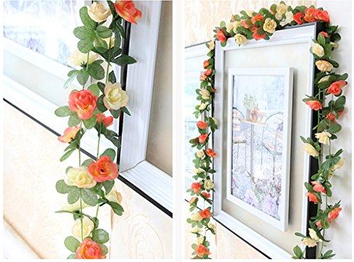 Meiliy-2-Pack-82-FT-Fake-Rose-Vine-Flowers-Plants-Artificial-Flower-Home-Hotel-Office-Wedding-Party-Garden-Craft-Art-Decor