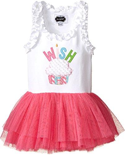 Mud Pie Baby Toddler Girls Birthday Tutu Dress