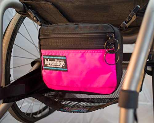Junior Wheelchair Deluxe Down Under Bag (Pink) by Advantage Bag Company