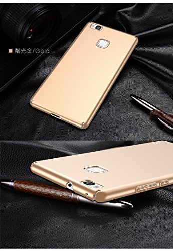 Housse P9 Or Huawei Fini Ultra Huawei Mince Rayures Lite JEPER Choc Protection Lite Dur Telephone P9 Anti Coque PC Anti pour Mat Case Intgrale gTxqYYEn