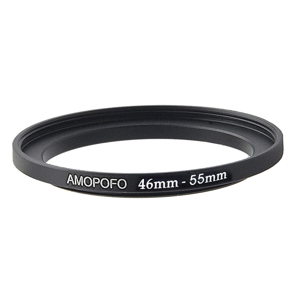 Universal 46 to 55mm //46mm to 55mm Step Up Ring Filter Adapter for UV,ND,CPL,Metal Step Up Ring