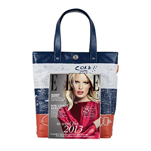 bandolera; Shopper; Uni Bolsos escolares; Bandera de Vegan A100015 Style Shoulder bag Motif A4 Bolsos Rusia; Bolsa; cuero; Azul 5fIxZdw5