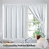 White Home Decoraation Blind Curtains - RYB HOME - Best Reviews Guide