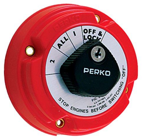 Perko 8502DP Marine Locking Battery Selector Switch