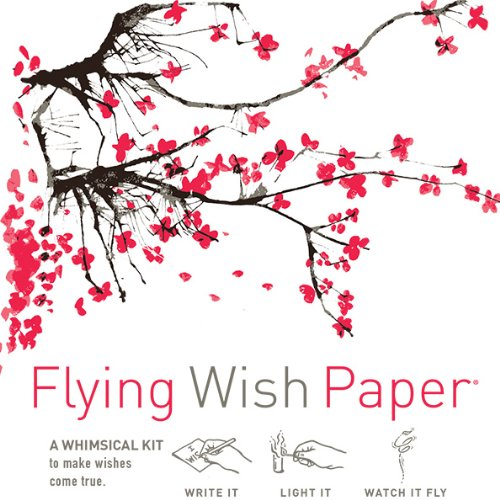 Flying Wish Paper Cherry Blossoms ()