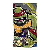 playmates toy.com Teenage Mutant Ninja Turtles Bath Towel Set 2 Pc