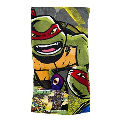 ninja turtle bath set - 1