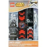 LEGO Watches Star Wars Darth Vader Kids Buildable Watch with Link Bracelet and