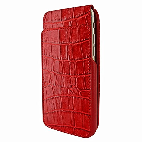 Piel Frama 760 Red Crocodile iMagnumCards Leather Case for Apple iPhone 7 / 8 by Piel Frama (Image #2)