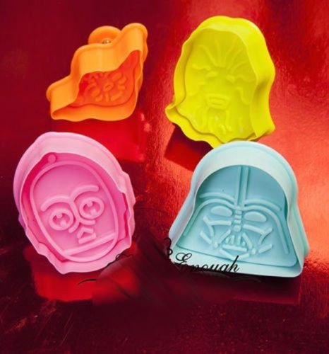 star wars cookie cutter set - 5
