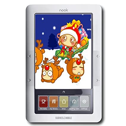 Amazon Com Barnes Noble Nook Ebook Reader Wifi 3g B W