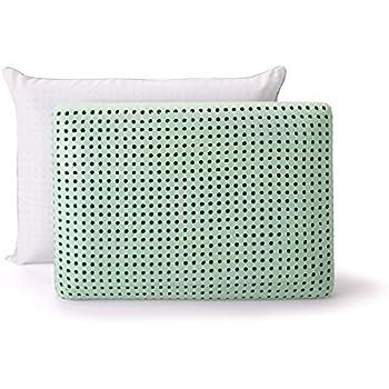 SleepJoy ViscoFresh Green Tea Memory Foam Pillow, Standard